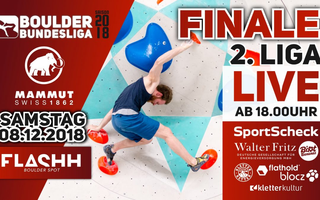 Livestream – Finale Boulder Bundesliga 2018