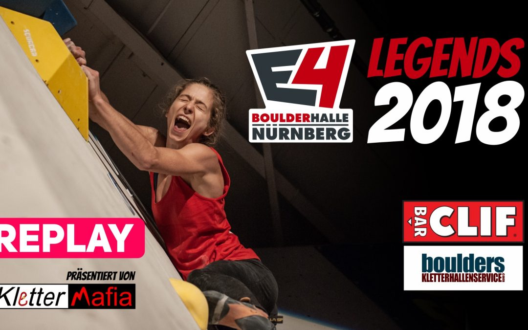 Livestream – E4 Legends Competition 2018