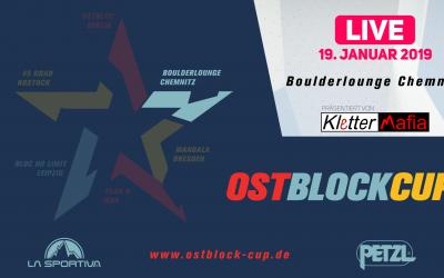 Livestream – Ostblock Cup 2018/2019 | Chemnitz