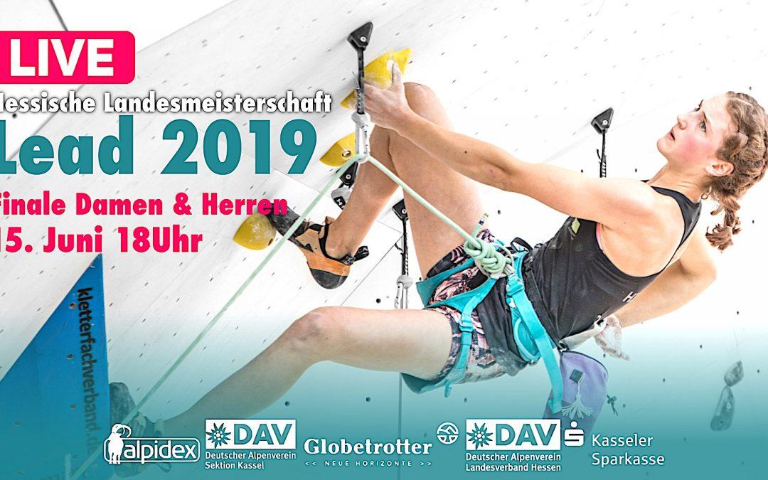 Livestream – Hessische Meisterschaften Lead 2019